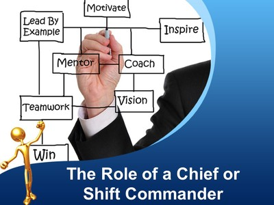 Expectations of a Chief or Shift Commander in Mentoring People