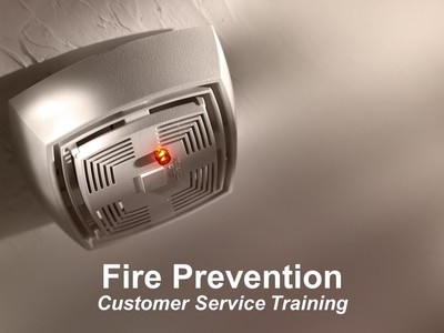 Fire Prevention--Customer Service Training
